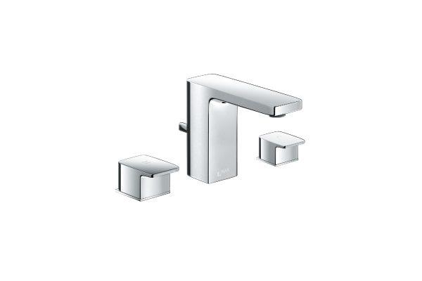 Vòi chậu rửa lavabo nóng lạnh Inax LFV-5010S